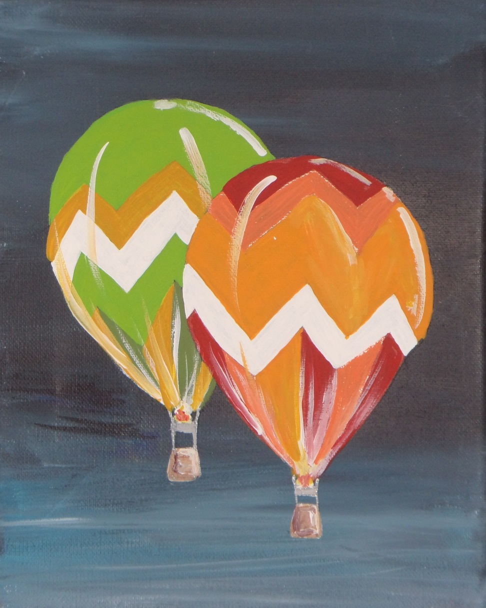 Balloons Canvas Painting