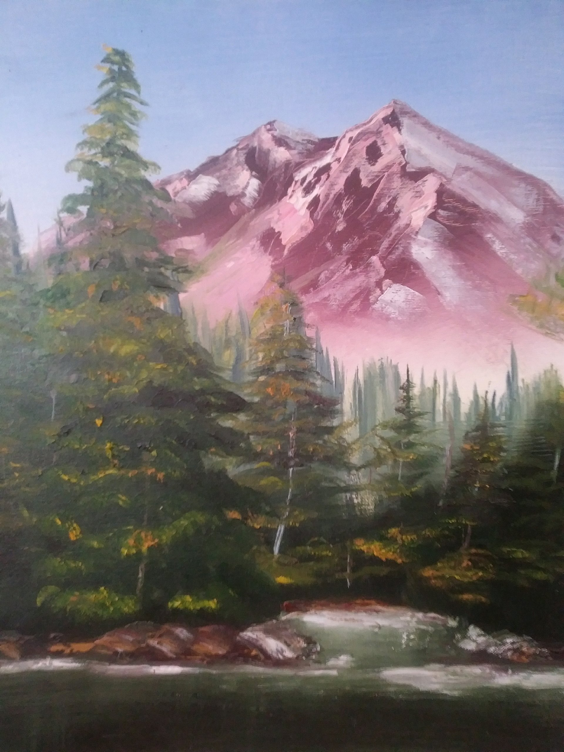 Buy Mountain Oil Painting